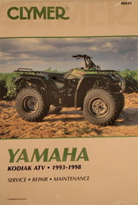 Yamaha Atv YFM 400 Kodiak CLYMER Service Repair Manual