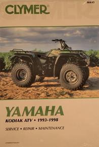 Yamaha Atv YFM 400 Kodiak CLYMER Service Repair Manual