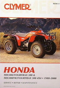 NEW Honda TRX300 300 FW Fourtrax Service Repair Manual!