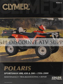 Polaris Sportsman & Xplorer 400 450 500 Repair Manual!