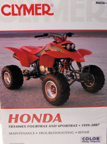 Honda TRX 400EX Fourtrax CLYMER Service Repair Manual