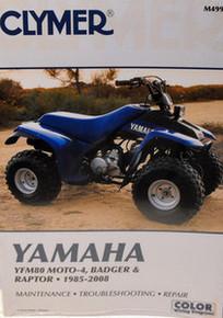 NEW Yamaha YFM80 80 Badger Moto-4 Raptor Repair Manual!