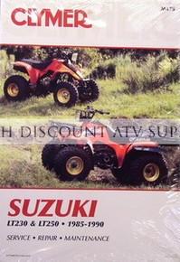 Suzuki LT230 LT250S CLYMER Repair Manual