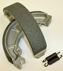 Honda 90 110 125 185 200 250R Rear Brake Shoes and Springs *FREE U.S. SHIPPING*