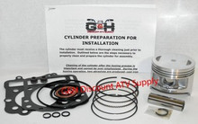 Kawasaki KVF300 Prairie Engine Motor Top End Rebuild Kit & Cylinder Machining Service