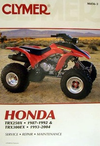 Honda Atv TRX 250X 300EX Fourtrax Clymer Repair Manual *FREE U.S. SHIPPING*