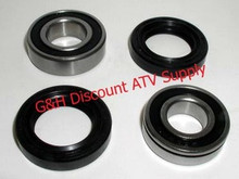 1991-2001 Suzuki LTF160 LTF 160 Front Wheel Knuckle Bearings & Seals Kit