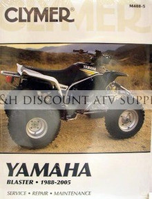 Yamaha YFS200 Blaster Service Repair Manual *FREE U.S. SHIPPING*