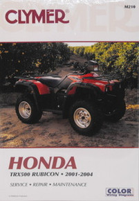 Honda TRX500 500 Rubicon CLYMER Repair Manual *FREE U.S. SHIPPING*
