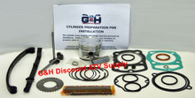 Honda Atc 200E Big Red Engine Complete Top End Rebuild Kit Machining Service