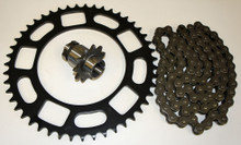 Honda 1982 ATC 200E Big Red Chain & Front Rear Sprocket Set *FREE U.S. SHIPPING*