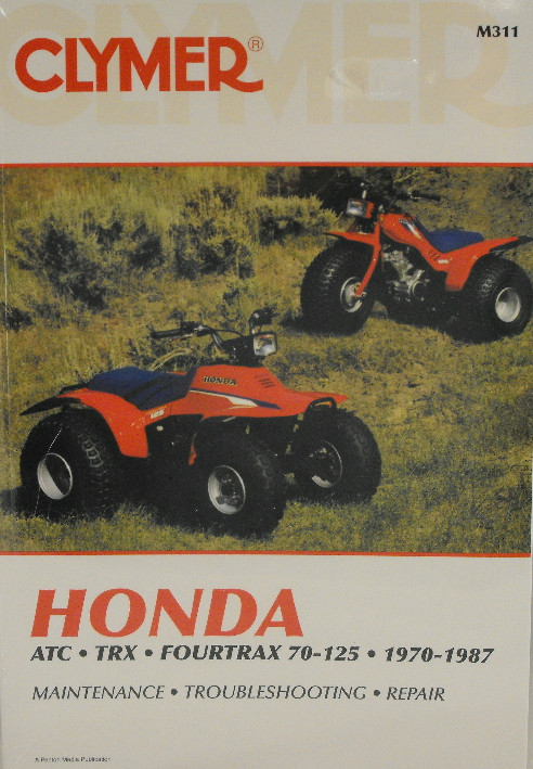 free honda recon 250 repair manual