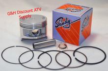Shindy Piston /& Rings Kit for the 2003-2013 Kawasaki KVF 360 Prairie Standard Size 80.00mm Standard Size 80.00mm
