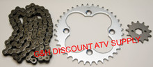 Honda TRX300EX Chain & Sprockets Set 13T Front 38T Rear Standard Kit *FREE U.S. SHIPPING*