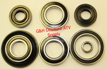 2008-2013 Suzuki LTA LTF 400 King Quad 4x4 Front Differential Bearing & Seal Kit *FREE U.S. SHIPPING*