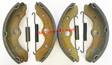 2 Sets Front Brake Shoes & Springs Honda 1989-1990 FL 400 Pilot ATV *FREE U.S. SHIPPING*