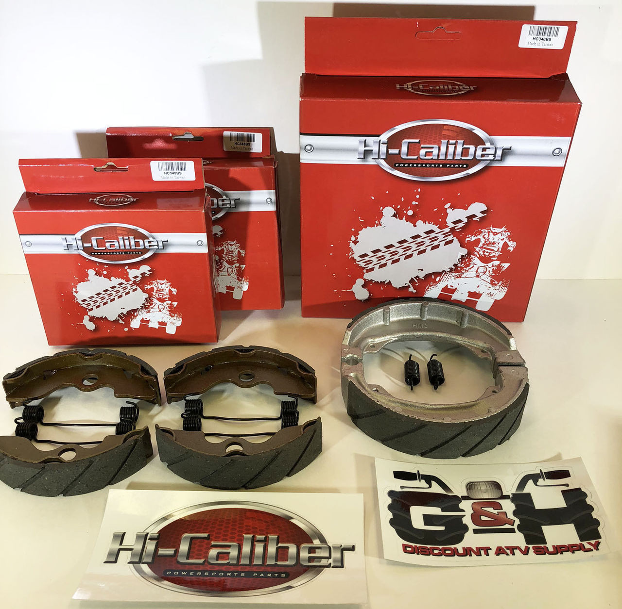 WATER GROOVED REAR BRAKE SHOES /& SPRINGS for the TRX 250 Recon 250X 250EX Sportrax