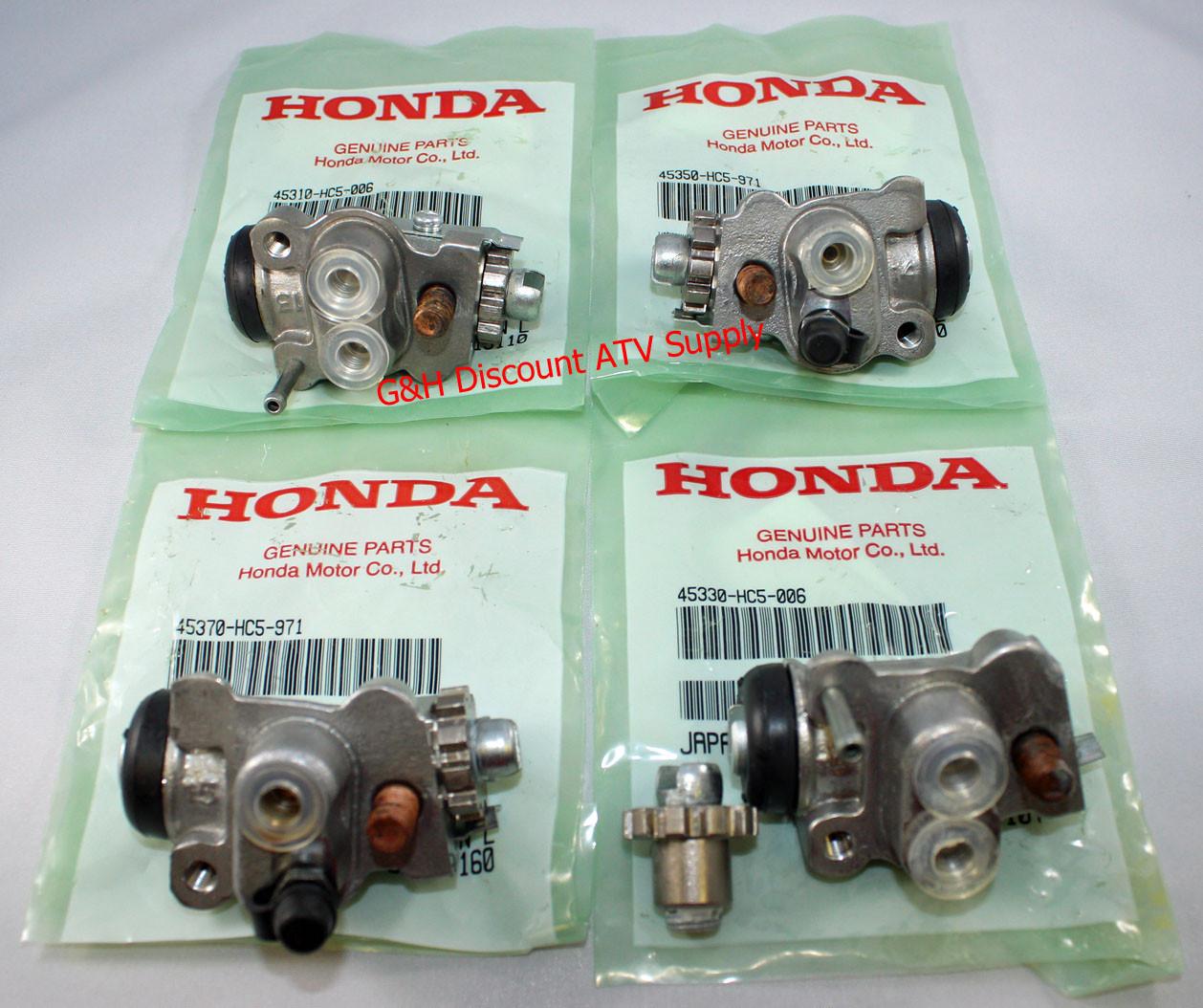Ohoho Brake Master Cylinder for HONDA 200 250 300 350 400 450 500 TRX Rancher Foreman FourTrax
