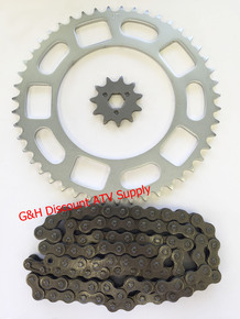 1981-1982 Honda ATC 200 520X90 Link Chain 11 Tooth Front and 47 Tooth Rear Sprockets Set *FREE U.S. SHIPPING*