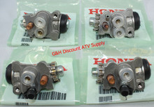 NEW OE Honda 1998-2004 Honda TRX 450 Foreman S ES 4x4 SET of FOUR Front Brake Wheel Cylinders *FREE U.S. SHIPPING*