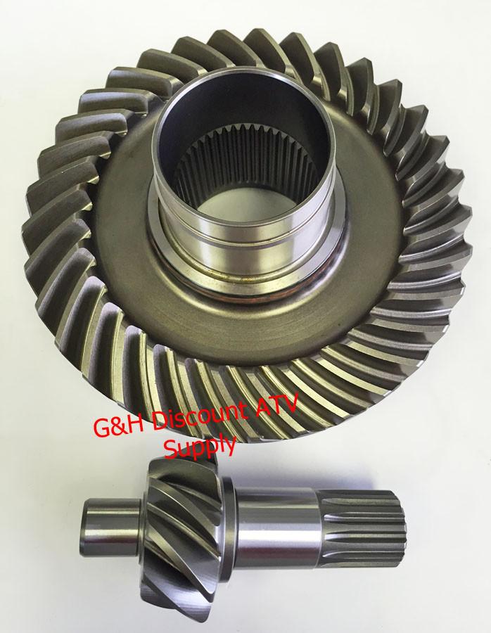 1987 1995 Yamaha Yfm 350er Moto 4 Rear Differential Ring Pinion Gear Set 1yw 46110 00 00 Free Us Shipping