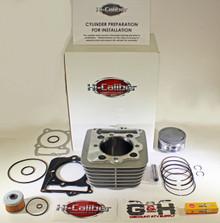 QUALITY 1999-2008 Honda TRX 400EX Fourtrax SporTrax 440cc 89mm BIG BORE Cylinder Top End Rebuild Kit
