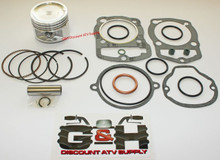 QUALITY Piston & Top Gasket Kit SET Honda TRX 200, ATC 200S, 200E, 200ES Big Red, 200M, ATV