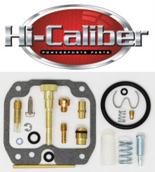 Quality Carburetor Carb Rebuild Repair Kit 2004-2013 Yamaha YFM 125 Grizzly