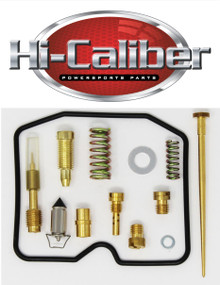 Quality Carburetor Carb Rebuild Repair Kit for the 2008-2010 Suzuki LT-A400 LT-F400 King Quad ATVs