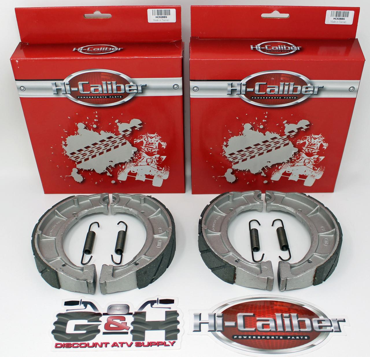 Front Rear brake shoes For 1999 2000 YAMAHA YFM 250 Bear Tracker 250