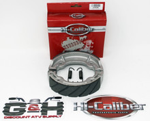 Quality WATER GROOVED Rear Brake Shoes & Springs for 1989-1991 Yamaha YFM 100 Champ ATVs
