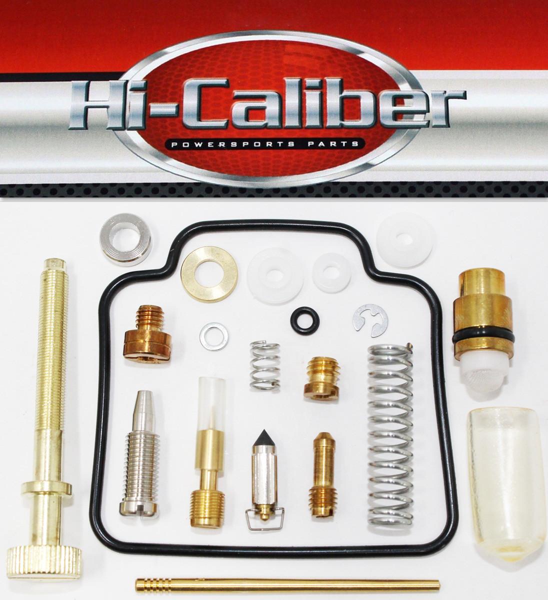 Polaris 1998-2002 Scrambler 500 2x4//4x4 Full Carburetor Carb Rebuild Kit