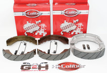 WATER GROOVED FRONT & REAR Brake Shoes & Springs for ALL 1991-2002 Suzuki King Quad LT-F4WDX LT-F300F 4WD ATVs
