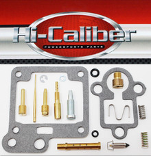 Hi-Caliber Powersports Parts Carburetor Rebuild Kit for the 2004-2008 Yamaha YFM 50 Raptor ATVs Carb Repair