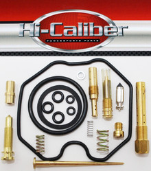 Hi-Caliber Powersports Parts Carburetor Rebuild Kit for the 2005-2014 Honda TRX 250 Recon TM TE ATVs Carb Repair