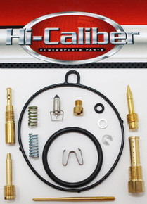 Hi-Caliber Powersports Parts Carburetor Rebuild Kit for the 2007-2008 Polaris Outlaw 90 & Sportsman 90 ATVs Carb Repair