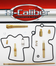 Hi-Caliber Powersports Parts Carburetor Rebuild Kit for the 2006-2009 Honda TRX 450R & 2012-2014 TRX 450ER ATVs Carb Repair
