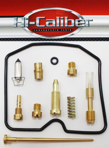 Hi-Caliber Powersports Parts Carburetor Rebuild Kit for the 2002-2005 Arctic Cat 250 4x4 2x4  ATVs Carb Repair