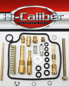 Hi-Caliber Powersports Parts Carburetor Rebuild Kit for the 2004-2006 Honda TRX 350 Rancher FE FM TE TM 4x4 2x4  ATVs Carb Repair
