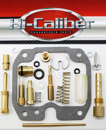 Hi-Caliber Powersports Parts Carburetor Carb Rebuild kit for the 2007-2011 Kawasaki KLF 250 Bayou