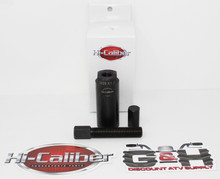 28mm x 1.0mm RH External Male Flywheel Puller + 14mm Crankshaft Protector for 2004-2005 Honda TRX 450R Sportrax Four-Wheelers