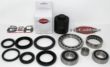 OEM QUALITY Rear Differential Axle Bearing Seal Kit AND Pinion Tool for 2004-2006 Yamaha 350 Bruin