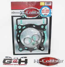 QUALITY Hi-Caliber Powersports Parts Top End Engine Gasket Kit Set for 2006-2007 Polaris 500 Outlaw & 2003-2007 Polaris 500 Predator ATVs