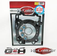QUALITY Hi-Caliber Powersports Parts Top End Engine Gasket Kit Set for 2016 Polaris 450 Sportsman HO ATVs
