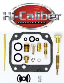 OE Quality Carburetor Carb Rebuild Repair Kit for the 1987-1989 Suzuki LT-4WD Quadrunner