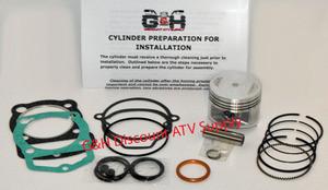1983-1985 Honda 200X Engine Motor Top Kit & Machining Service