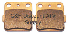 1987-1993 Suzuki LT230E Quadrunner Sintered Copper Rear Brake Pads *FREE U.S. SHIPPING*