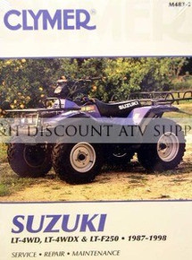 Suzuki LTF250 LT4WD Quadrunner CLYMER Repair Manual
