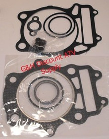 Suzuki 02-10 LT-A400 Eiger Top End Gasket Kit Motor Engine LTA400 King Quad, 2x4