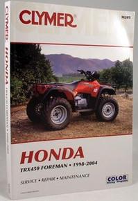 Honda TRX450 S ES Foreman CLYMER Repair Manual